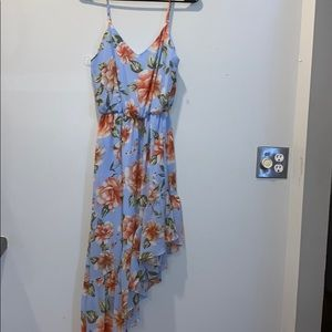 Everly floral ruffled summer dress nwot